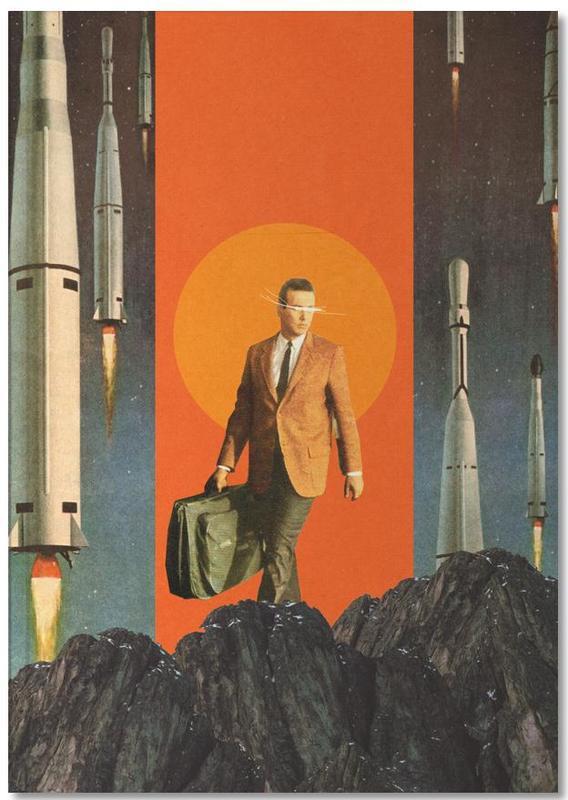 Skylines, Raumschiffe & Raketen, Valentinstag, Abstrakte Landschaften, Paare, Wälder, The Departure Notebook