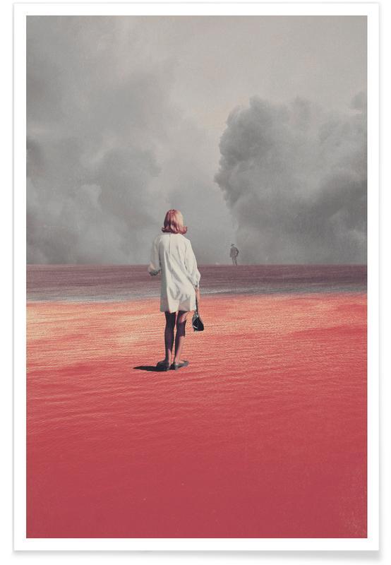 Abstracte landschappen, Skylines, Ruimteschepen en raketten, Bossen, Valentijnsdag, Stellen, Watching You Leave Me poster