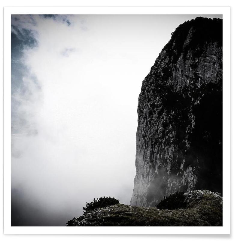 Montagnes, Am Abgrund affiche