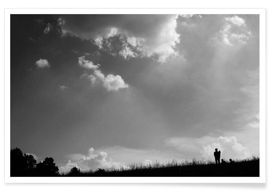 Ciels & nuages, Dem Himmel entgegen affiche