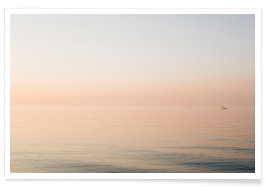 Océans, mers & lacs, Couchers de soleil, Cotton Candy Land affiche