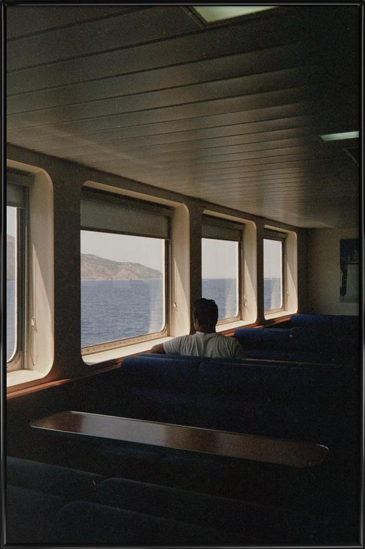 Ferry ingelijste poster