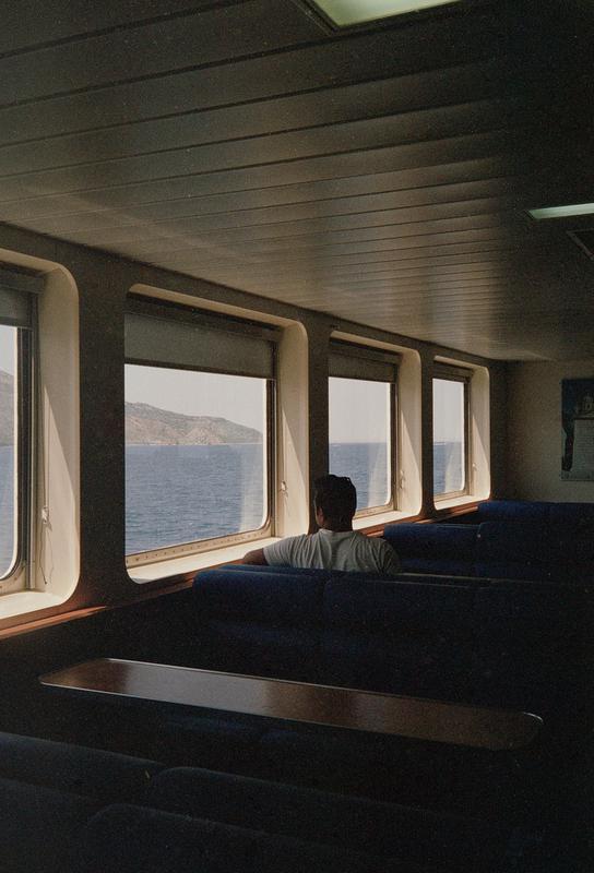 Ferry acrylglas print