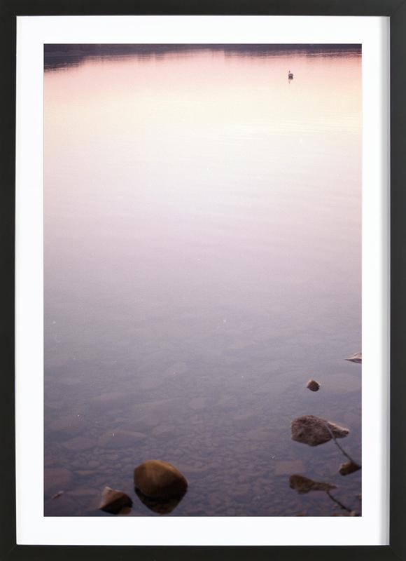 Neulich Abends… Framed Print