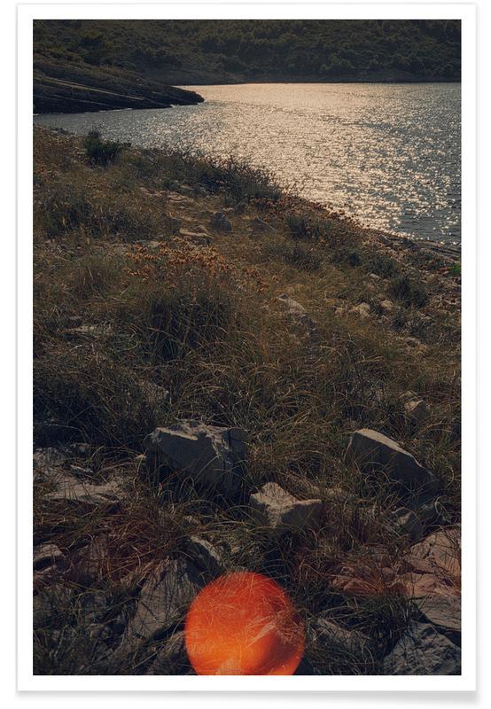 Ocean, Lake & Seascape, Sunburn Poster