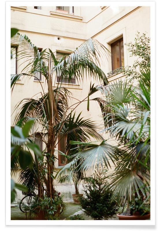 Reise, Palmen, Garden -Poster