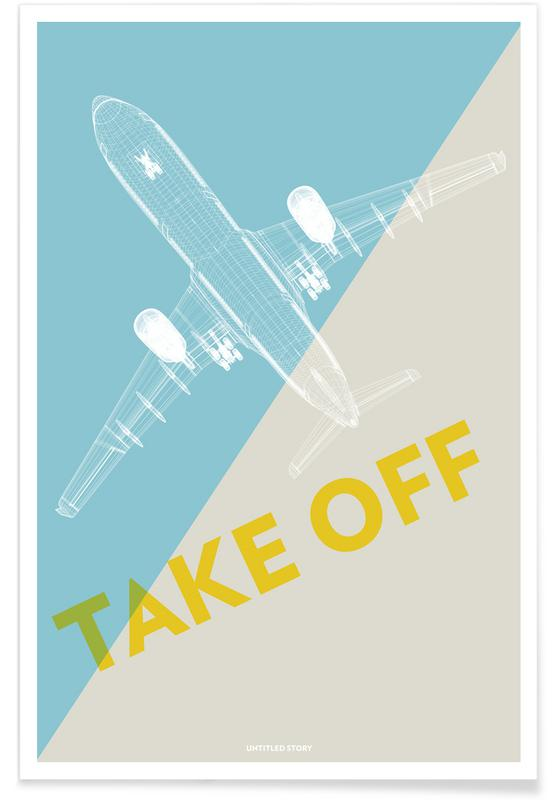 Take Off A340 poster