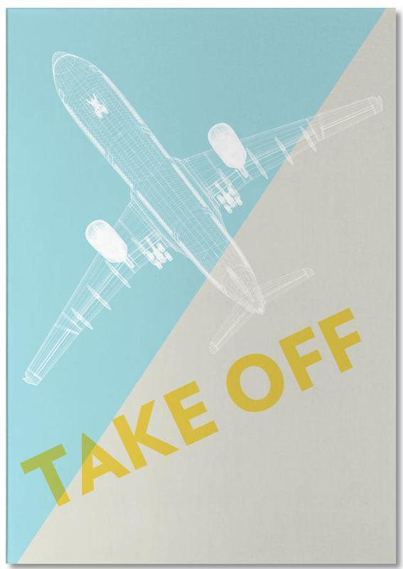 Take Off A340 Notepad