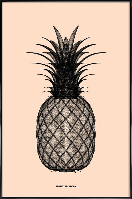 Ananas 2 Framed Poster