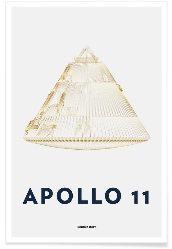 Apollo 11  Landing Module 6 poster