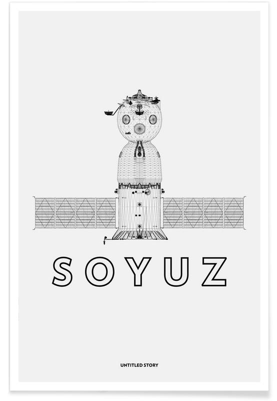 Schwarz & Weiß, Soyuz -Poster