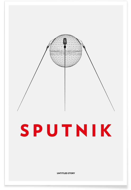 , Sputnik 2 -Poster
