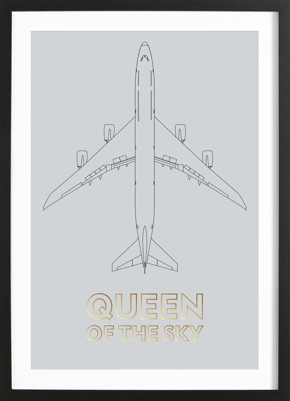 Queen of the Sky Framed Print
