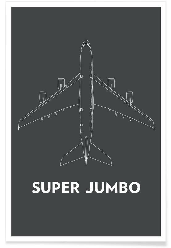 Avions, Super Jumbo Airbus A380 affiche