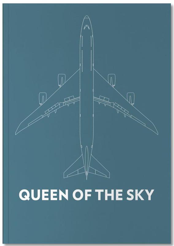 Queen of the Sky Boeing 747 Notebook