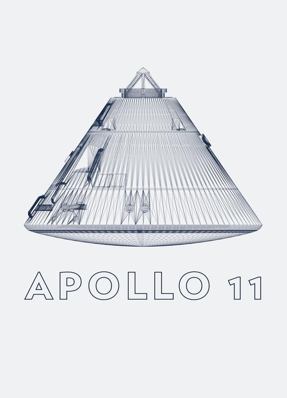 Apollo 11 3 Canvas Print