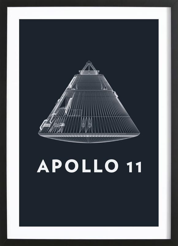 Apollo Midnight 1 Framed Print