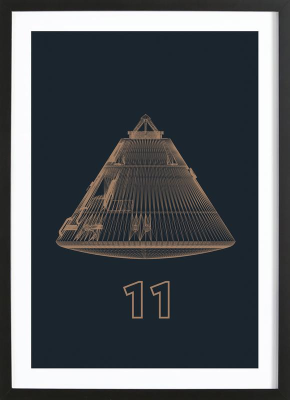 Apollo Midnight 3 Framed Print