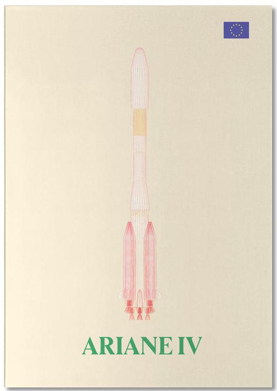 Ariane IV 01 bloc-notes