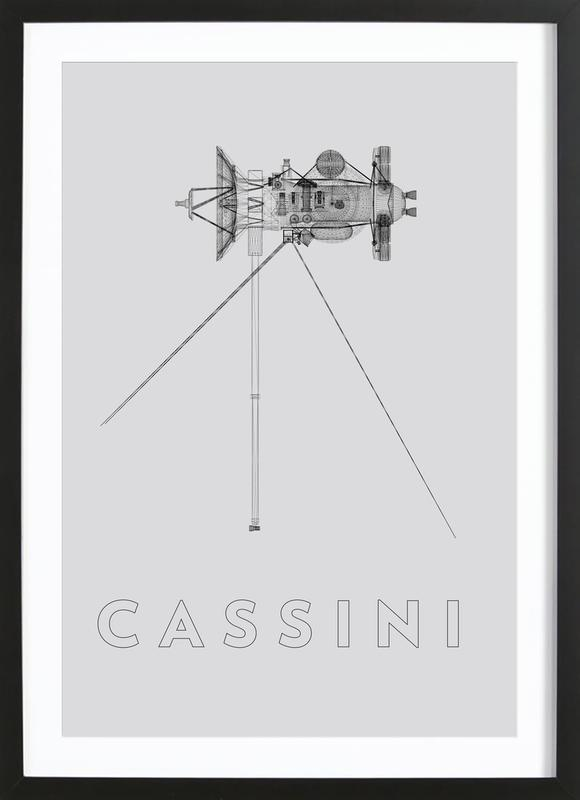 Cassini 2 Framed Print