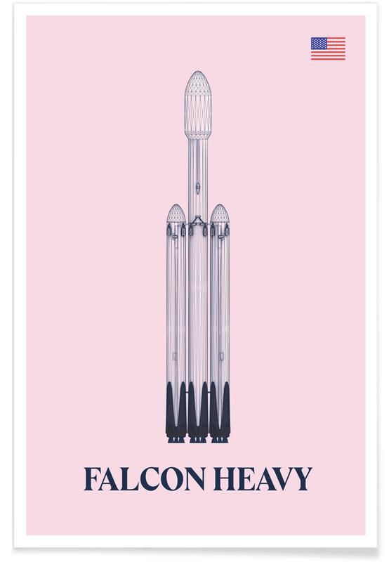 Falcon Heavy 3 Poster