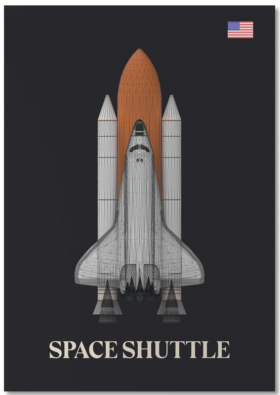 NASA Space Shuttle 1 Notepad