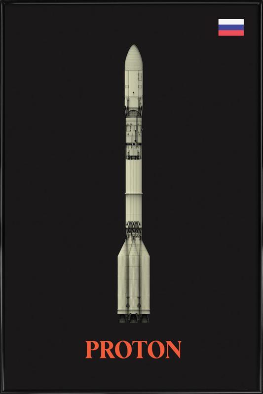 Proton 2 Framed Poster