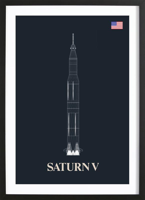 Saturn V 02 Framed Print