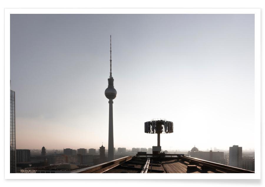 Architectural Details, Berlin Skyline Poster