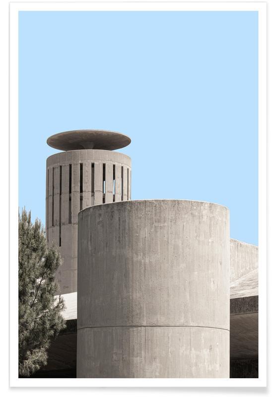 Architekturdetails, Niemeyer 2 -Poster