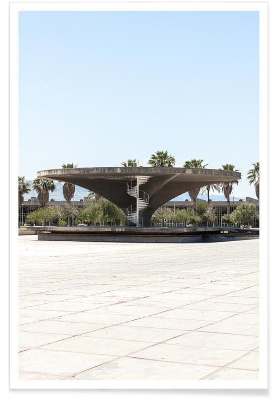 Architectural Details, Niemeyer 4 Poster