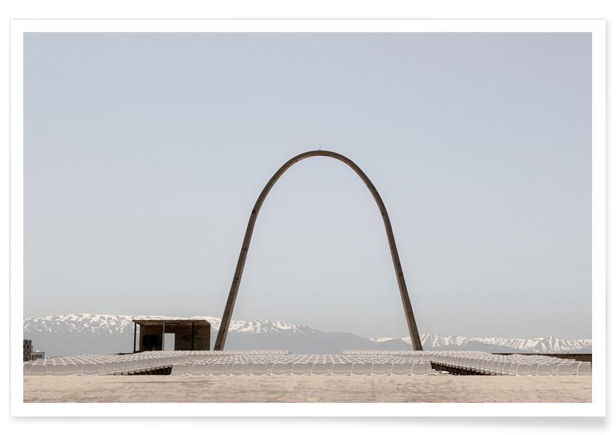 Détails architecturaux, Niemeyer 3 affiche