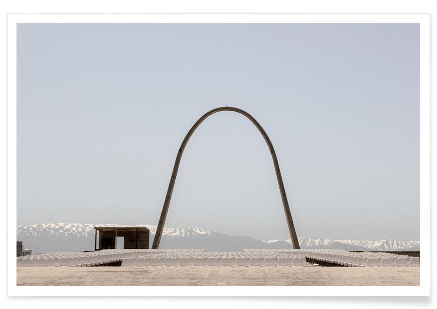 Architekturdetails, Niemeyer 3 -Poster