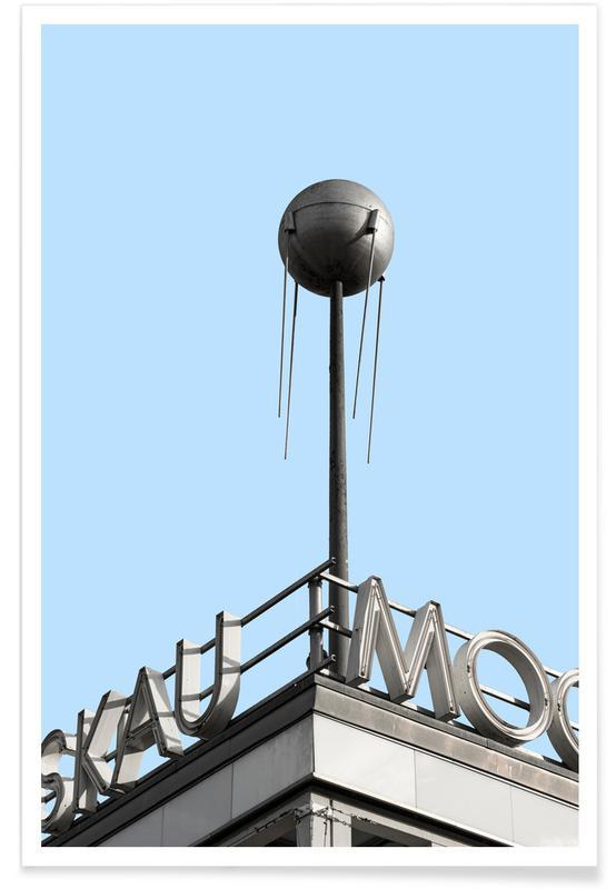 Détails architecturaux, Berlin Moscow Spunik 2 affiche