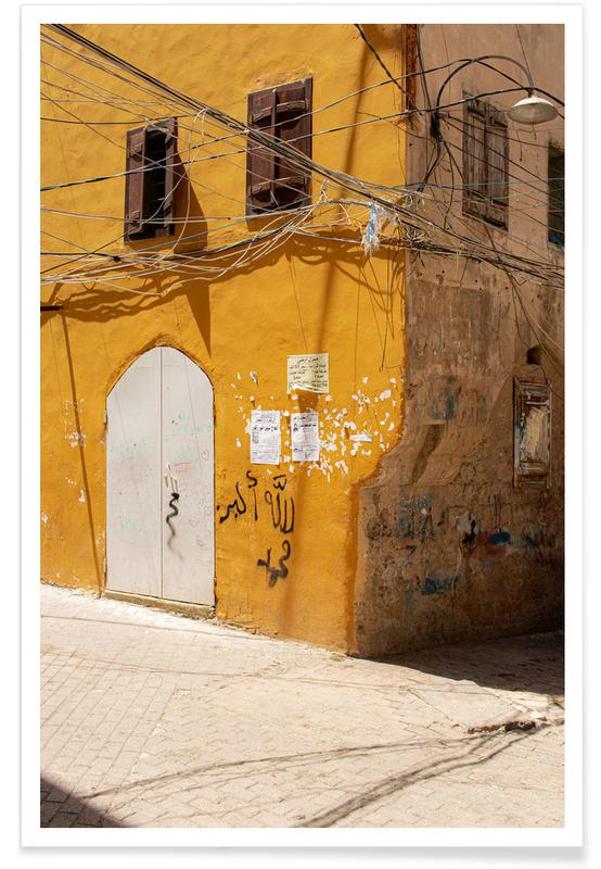 Architectural Details, Liban Poster
