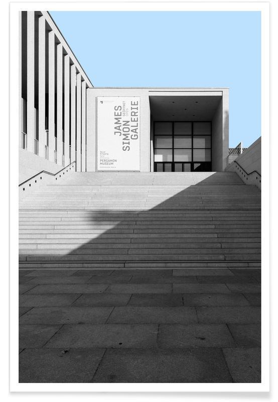 Détails architecturaux, Berlin Pergamon affiche