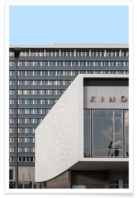 Architekturdetails, Berlin Kino International -Poster