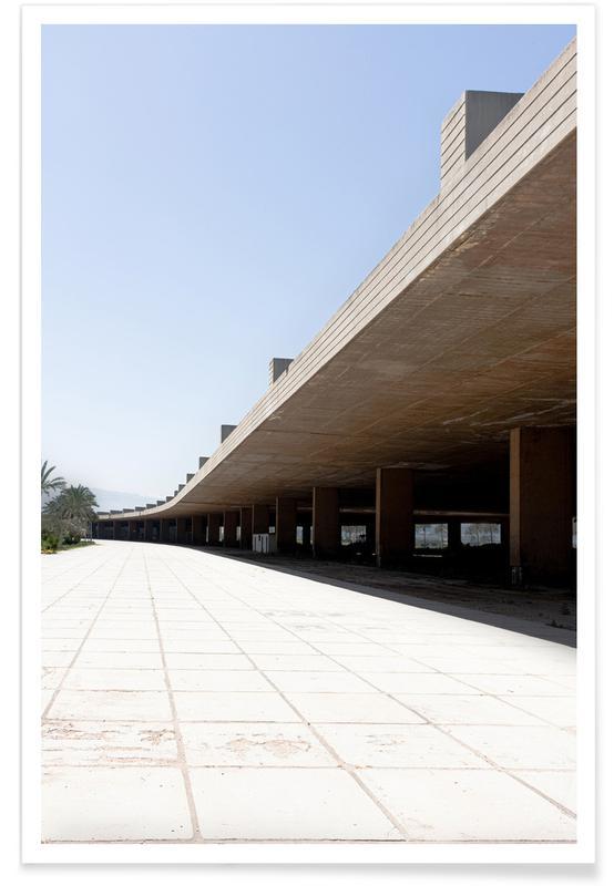 Architectonische details, Niemeyer 5 poster