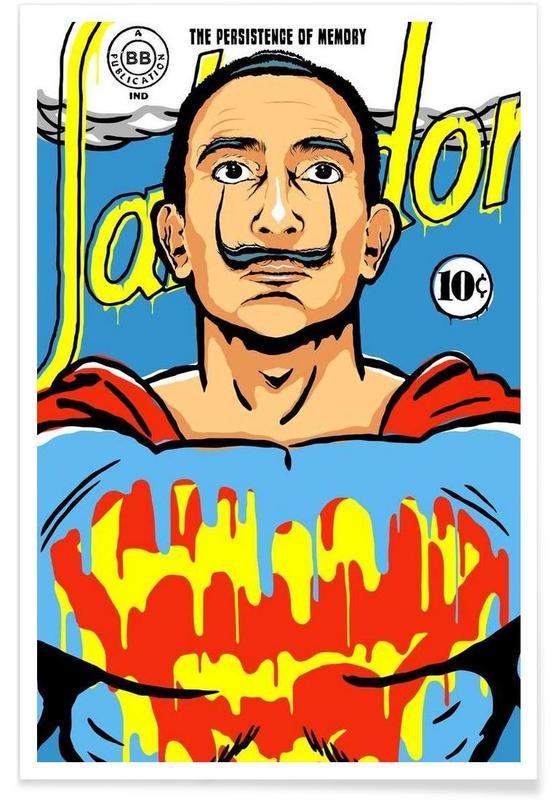 Pop Art, Salvador Dali, The World Needs a Salvador affiche