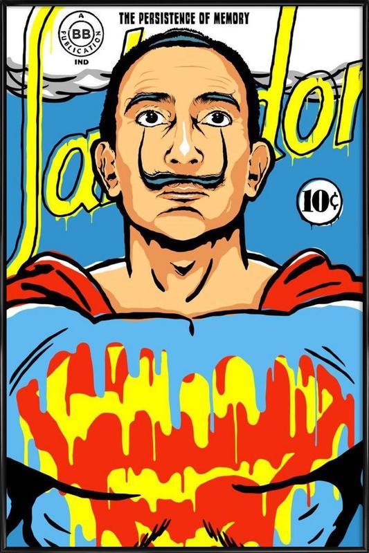 The World Needs a Salvador Framed Poster