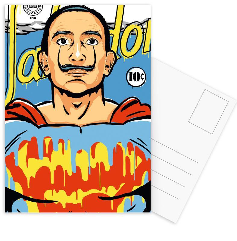 Pop Art, Salvador Dali, The World Needs a Salvador -Postkartenset