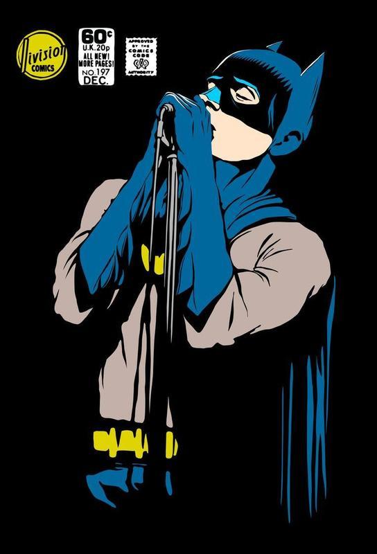 Post-Punk Dark Knight - Shadowplay Acrylic Print