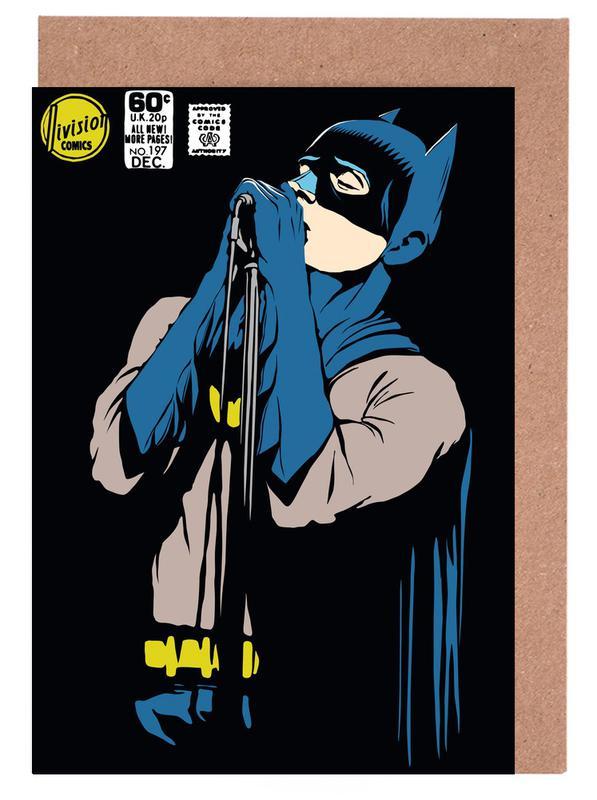 Post-Punk Dark Knight - Shadowplay Greeting Card Set