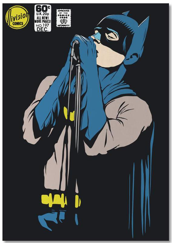 Batman, Pop Art, Post-Punk Dark Knight - Shadowplay -Notizblock