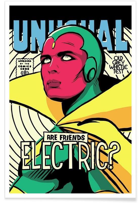 Pop Art, Post Punk Electric -Poster