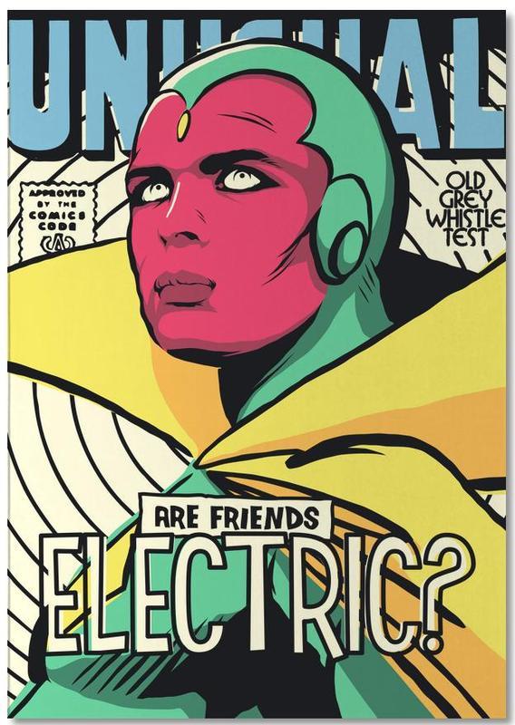 Pop Art, Post Punk Electric bloc-notes