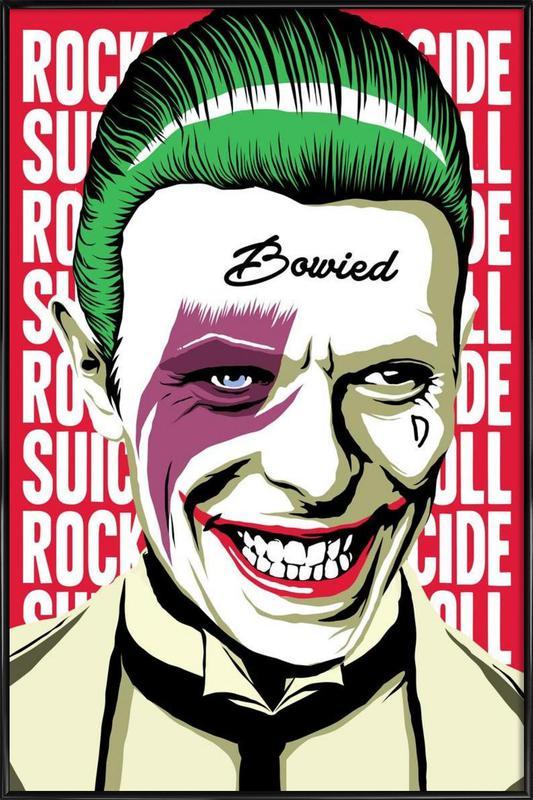 Rock'n'Roll Suicide ingelijste poster