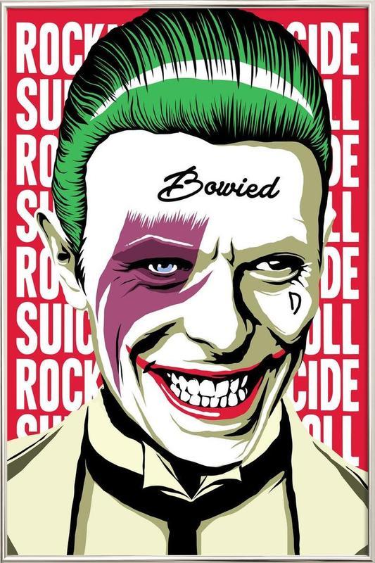 Rock'n'Roll Suicide poster in aluminium lijst