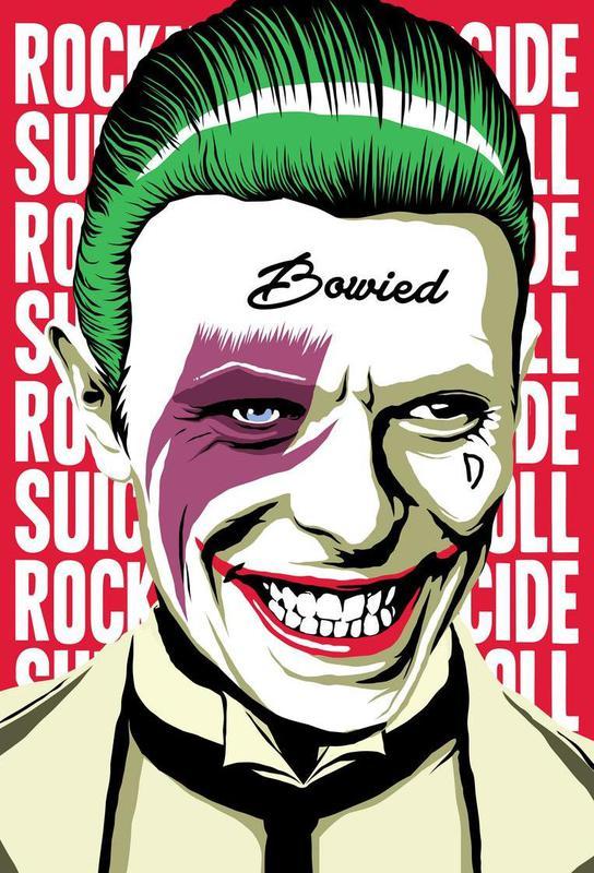 Rock'n'Roll Suicide alu dibond