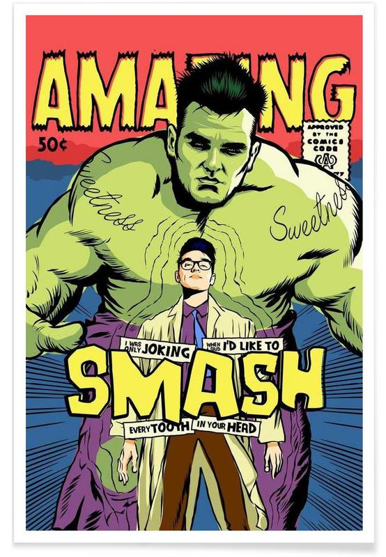 Pop Art, Post-Punk Smash -Poster